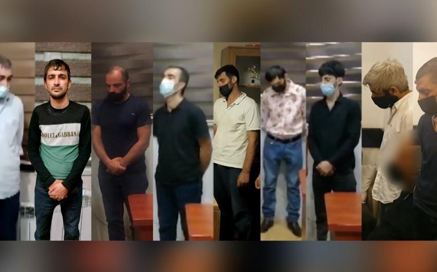 Bakıda narkotiktacirlərə qarşı əməliyyat keçirilib, 9 nəfər saxlanılıb - VİDEO