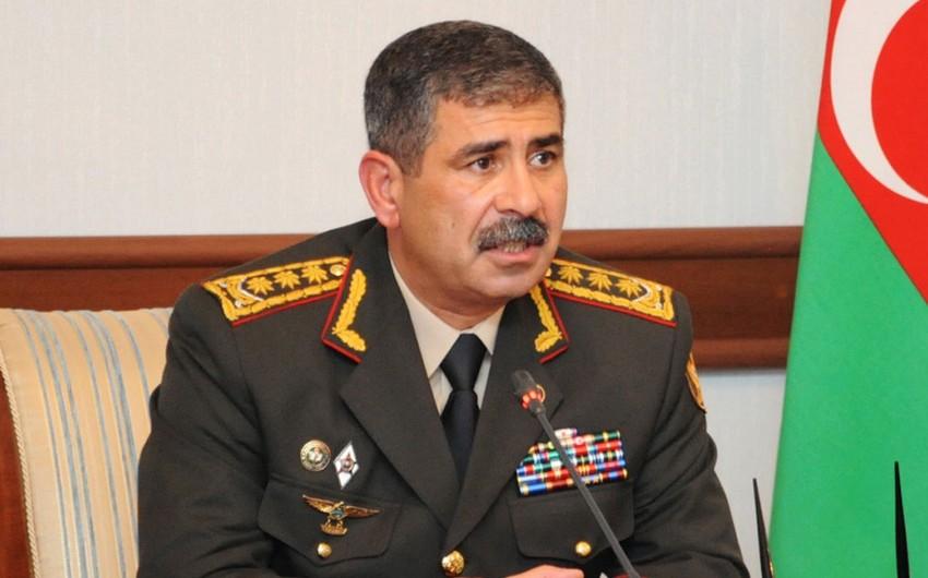 Azerbaijani Defense Minister chairs a meeting
