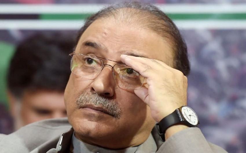 Pakistanın sabiq prezidenti həbs olunub