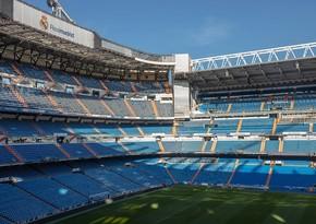 Real Madridin stadionunda yanğın oldu