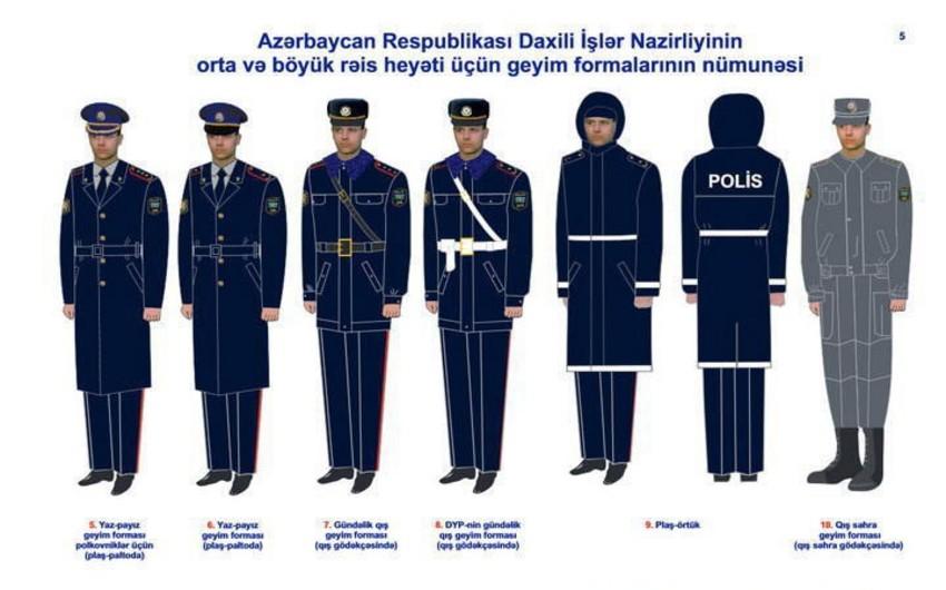 Azərbaycan polisi qış geyiminə keçib