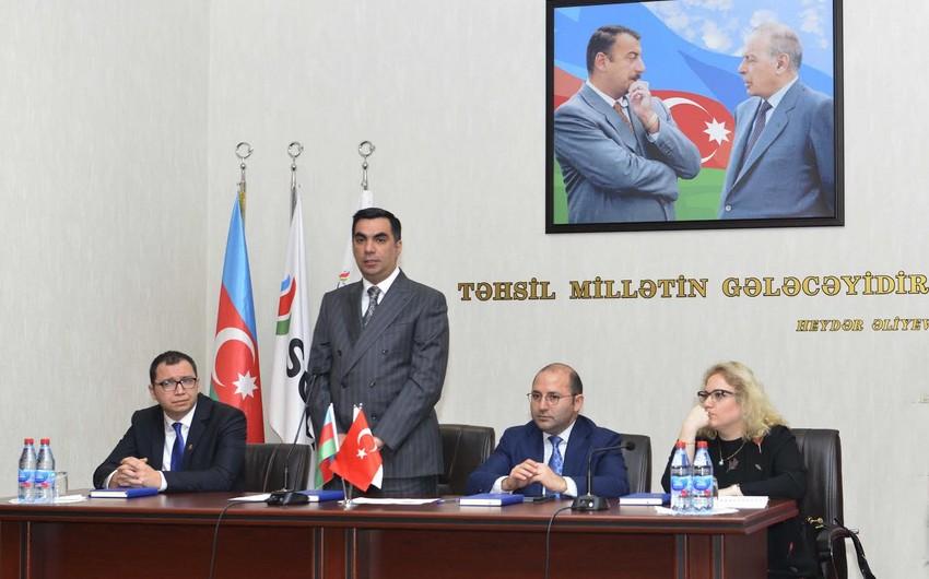 SOCAR Türkiyə şirkəti BANM-də təqdimat keçirib