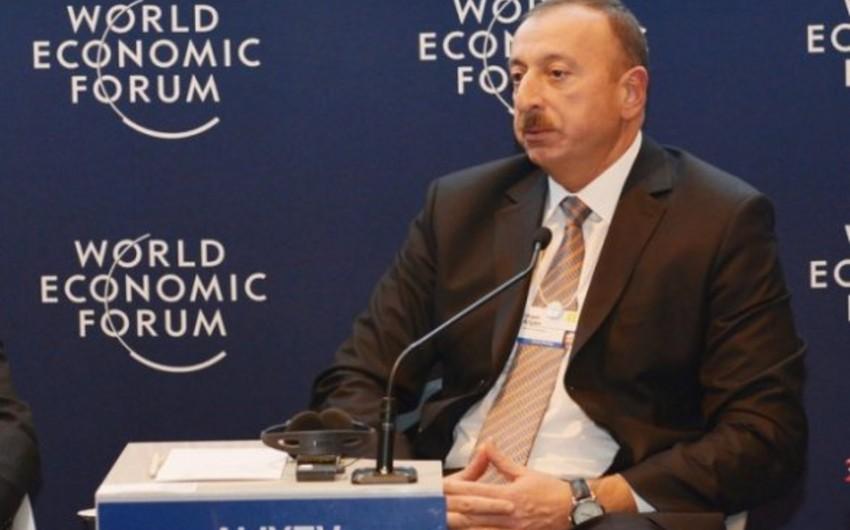 İlham Əliyev: Neft hasilatının azaldılmasına dair saziş 2018-ci ildən sonra da uzadılmalıdır