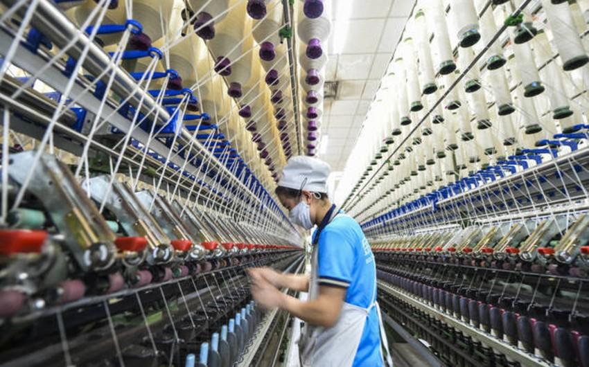 Çinin sənaye müəssisələri istehsalı 99% bərpa edib