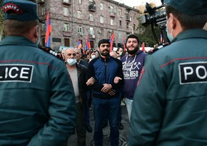 Armenian opposition stages rally in Yerevan