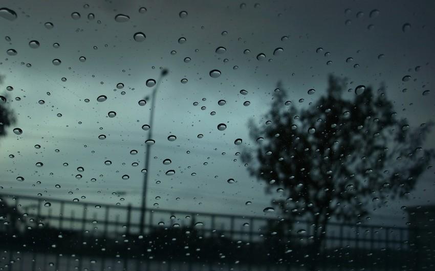 Azərbaycan ərazisində yağışlı hava şəraiti davam edəcək