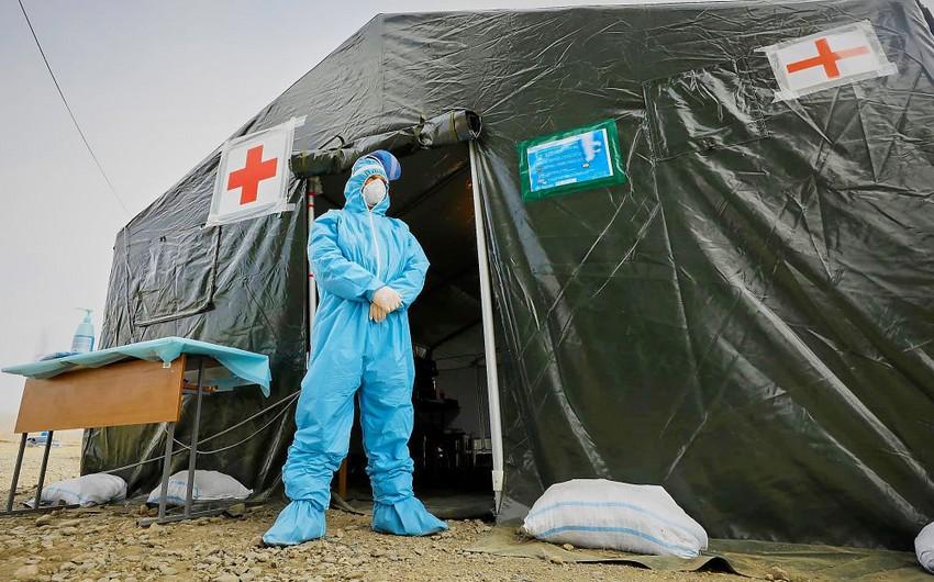 Gürcüstanda koronavirusa yoluxanların sayı 840-ı ötdü