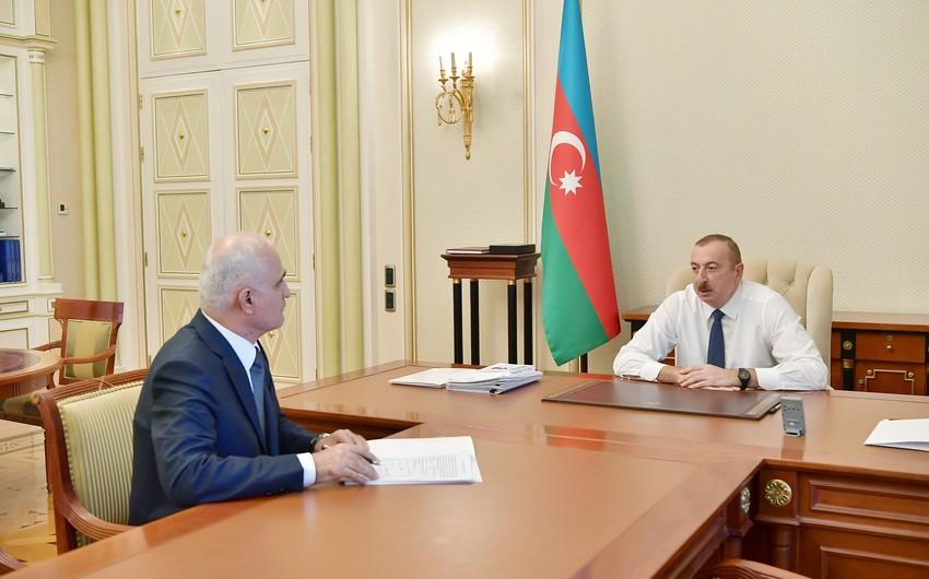 Президент Ильхам Алиев принял Шахина Мустафаева в связи с назначением на новую должность  - ОБНОВЛЕНО