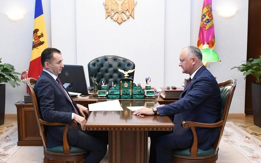 Moldova-Azərbaycan münasibətlərinin inkişafı müzakirə olunub