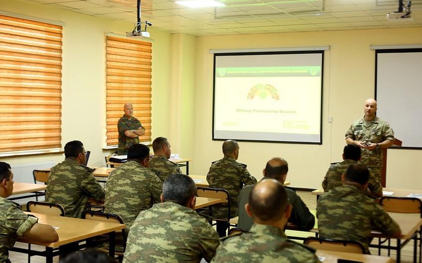 Bakıda NATO-nun təlim kursları keçirilib
