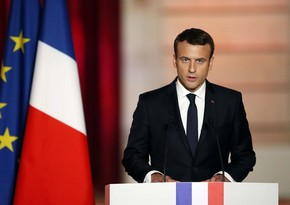 Macron urges EU to support demonstrations in Belarus