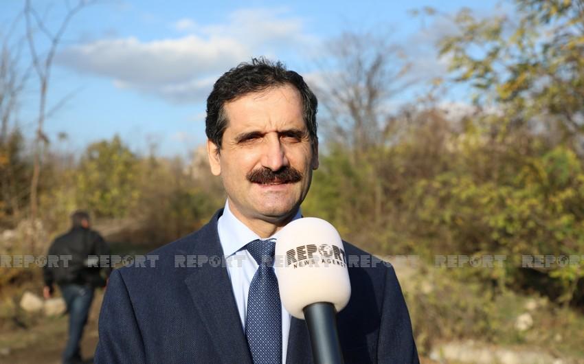 """Erkan Özoral: """"Füzulinin dağıdılması erməni vandalizminin bariz nümunəsidir"""""""