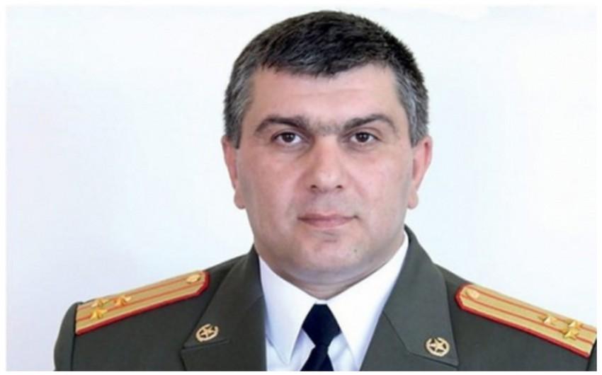 Ermənistan ordusunun korpus komandiri işdən çıxarılıb