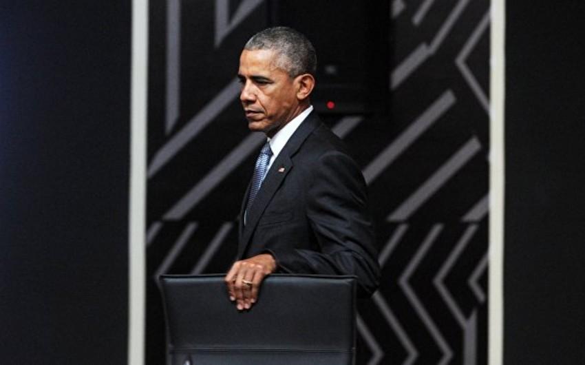 Barak Obama prezident postunda sonuncu çıxışını edəcək