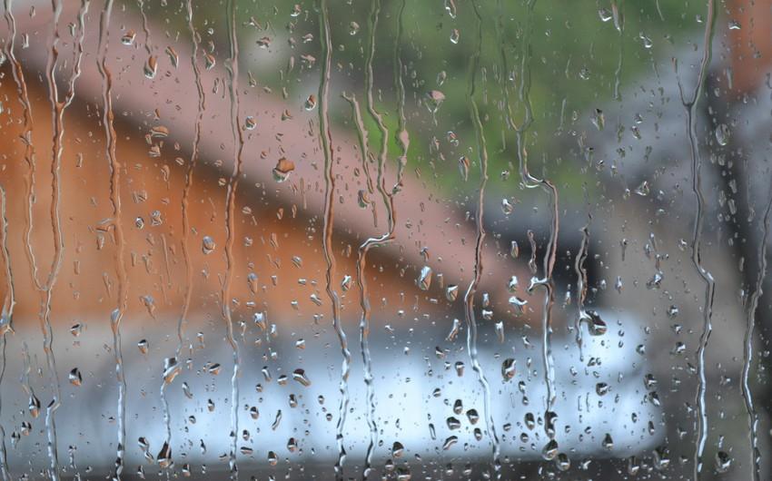 Heavy rain, sleet, snow predicted in Azerbaijan tomorrow