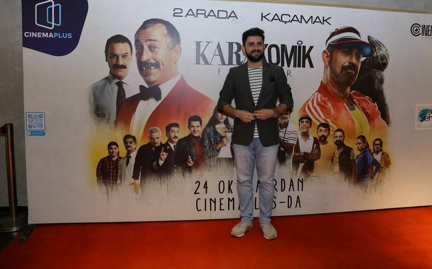 """""""CinemaPlus""""da Cem Yılmazın iki filmi nümayiş olunub - VİDEO"""