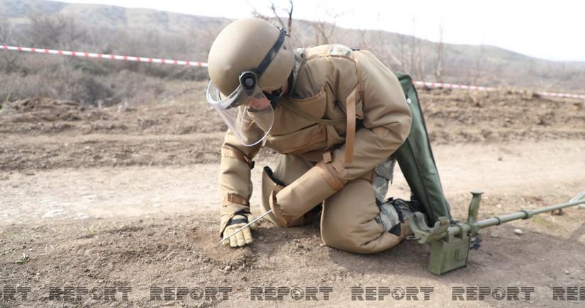 ANAMA: Demining operations continue in Fuzuli