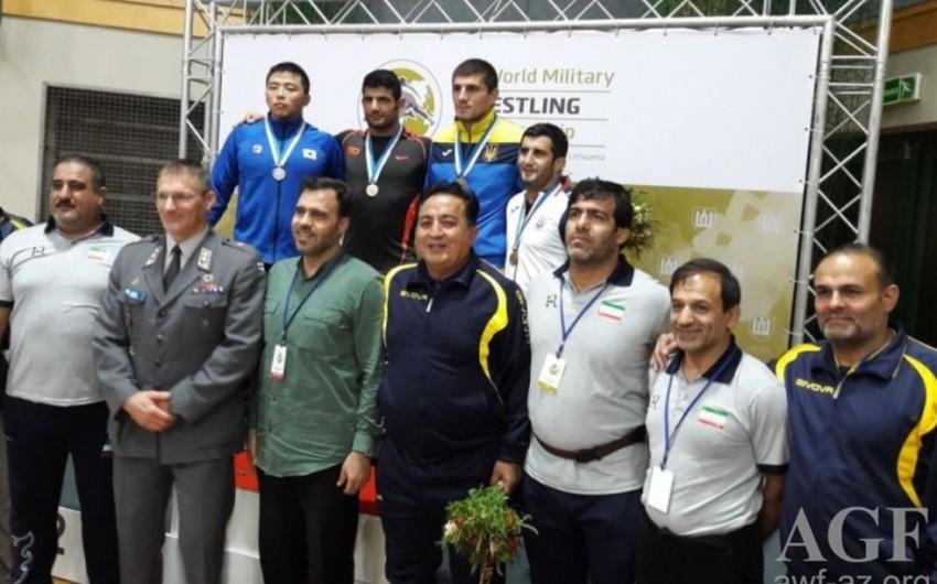 Azərbaycan güləşçisi hərbçilər arasında dünya çempionatında bürünc medal qazanıb