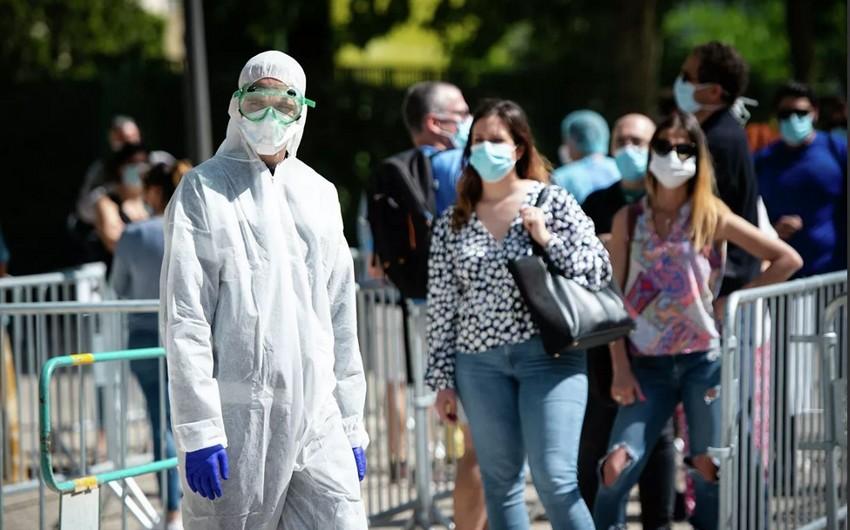 Fransada koronavirus qurbanlarının sayı 28 mini ötüb