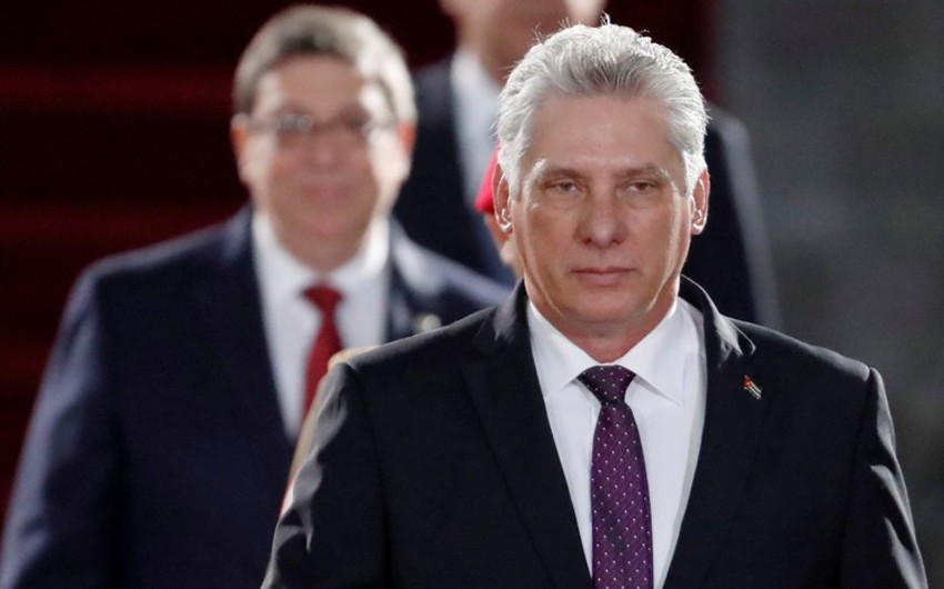 Migel Dias-Kanel Bermudes Kubanın prezidenti seçilib