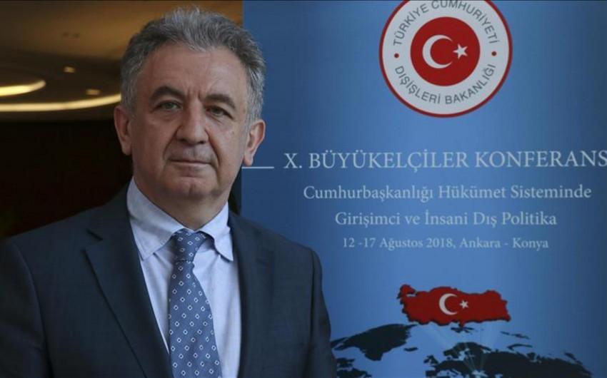 Səfir: Türkiyə Bakı-Tbilisi-Qars dəmir yolu xəttinin uzadılması ilə bağlı layihələr hazırlayıb