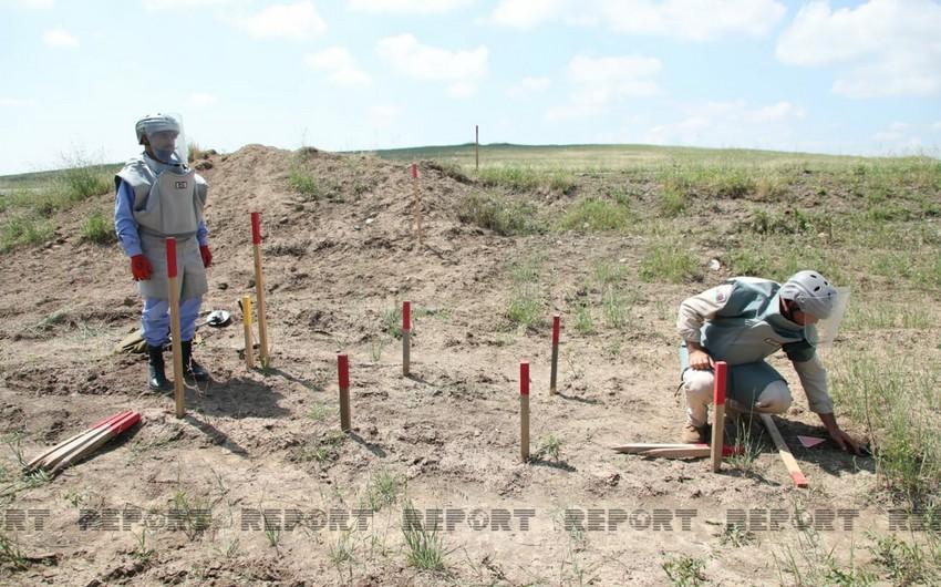На освобожденных территориях Азербайджана найдены еще 107 мин