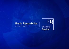 """EMF Mikromaliyyə Fondu """"Bank Respublika""""ya 5 milyon dollar kredit ayırdı"""