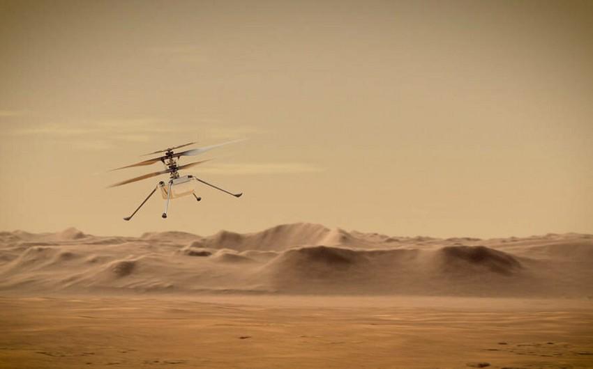 В NASA назвали дату первого полета вертолета на Марсе