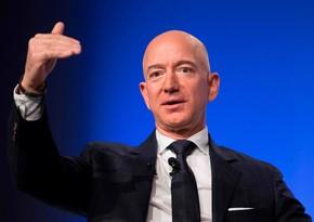 Ceff Bezosun sərvəti 180 milyard ABŞ dollarını ötdü