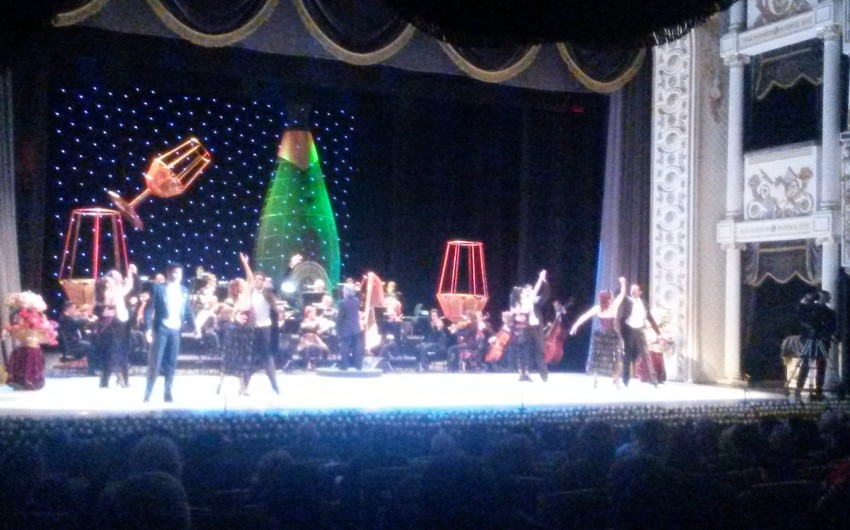 В Баку состоялся концерт Будапештского театра оперетты