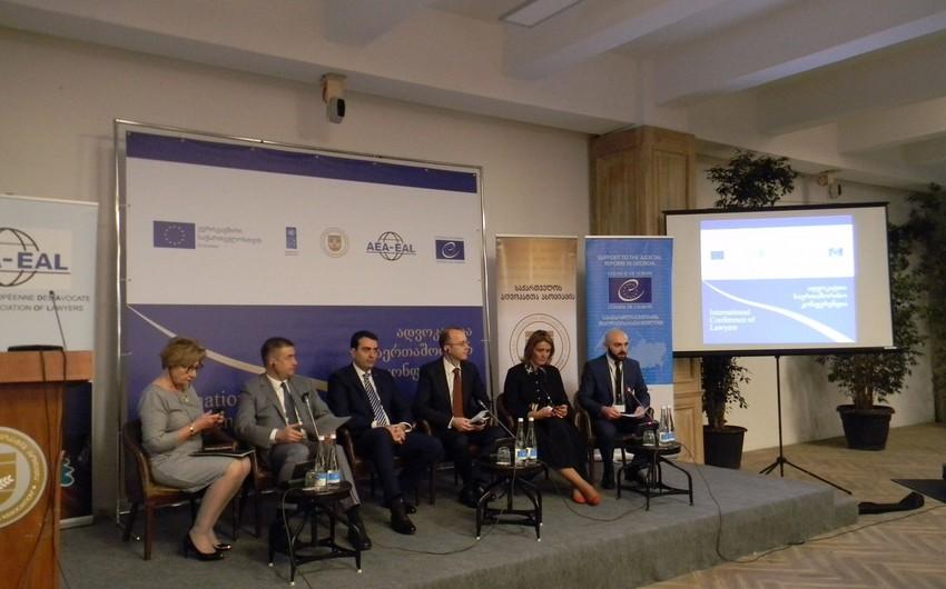 Представители Азербайджана участвуют на Международной конференции адвокатов в Тбилиси