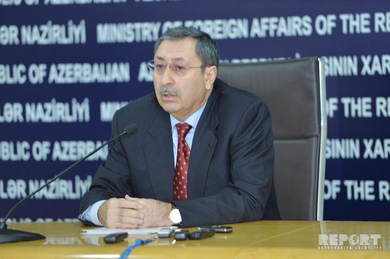 Халаф Халафов: Оккупация территорий Азербайджана является одной из главных препятствий на пути реализации прав человека
