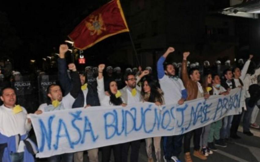 Montenegro: etirazçılar baş nazirin istefasını tələb ediblər