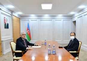 Али Асадов встретился с послом Турции в Азербайджане