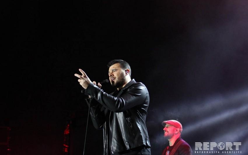 Emin Ağalarov Gəncədə konsert proqramı ilə çıxış edib - FOTO - VİDEO
