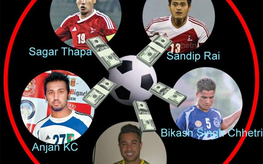 Nepal yığmasının 5 futbolçusu danışılmış oyuna görə həbs edilib