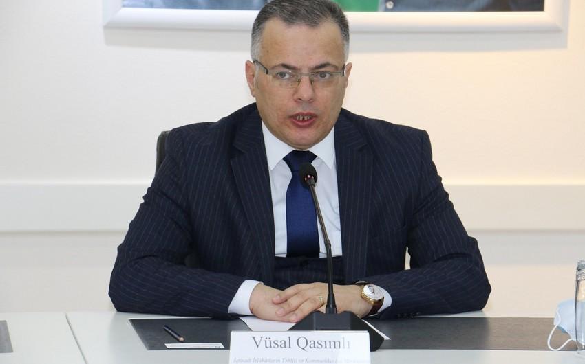 Vüsal Qasımlı: Azərbaycanda iqtisadi artım bərpa olundu