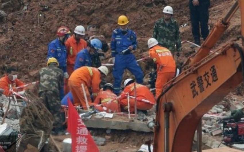 Çinin elektrik stansiyasında faciə nəticəsində ölənlərin sayı 74 nəfərə çatıb