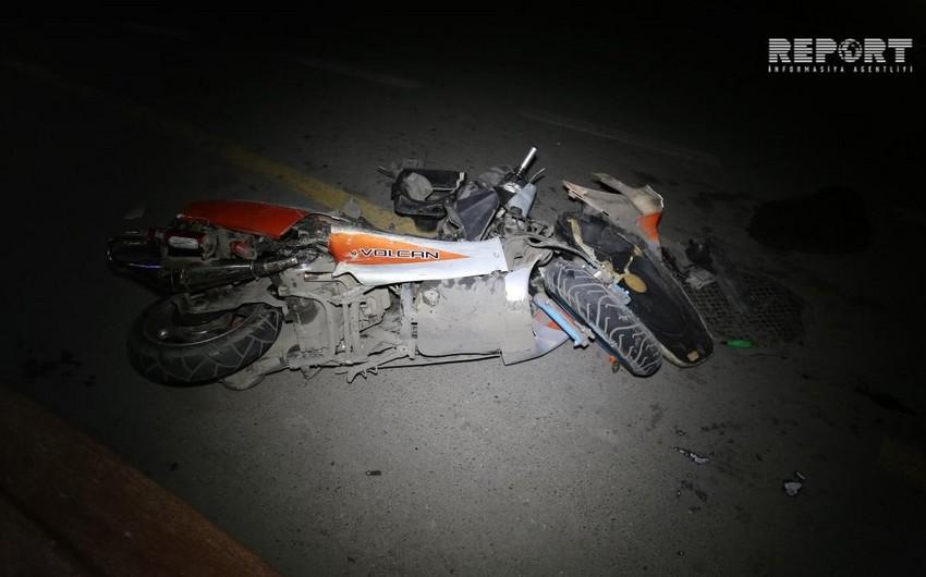 В Хачмазе при ДТП пострадал 37-летний мотоциклист