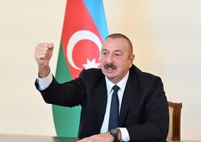 Ильхам Алиев: Якобы Шуша передана нам без боя, наглая ложь!