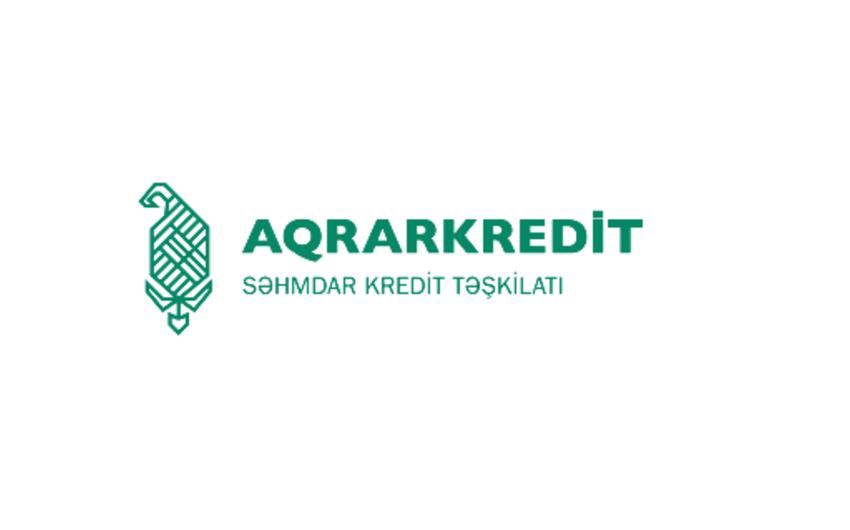 """""""Aqrarkredit nizamnamə kapitalını artırır"""