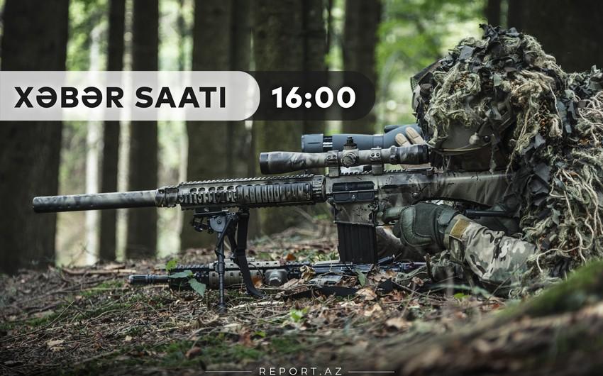 """""""Xəbər Saatı"""": Ermənistan diversiya-kəşfiyyat qrupunun komandiri əsir götürüldü"""