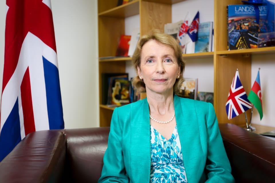 Посол Великобритании: Будучи крупнейшим иностранным инвестором в Азербайджане мы намерены в будущем расширить отношения