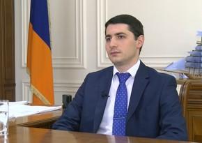 Ermənistan Milli Təhlükəsizlik Xidmətinin direktoru işdən çıxarıldı