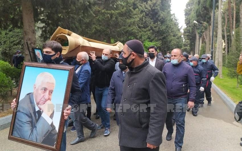 Фикрет Годжа похоронен наI Аллее почетного захоронения
