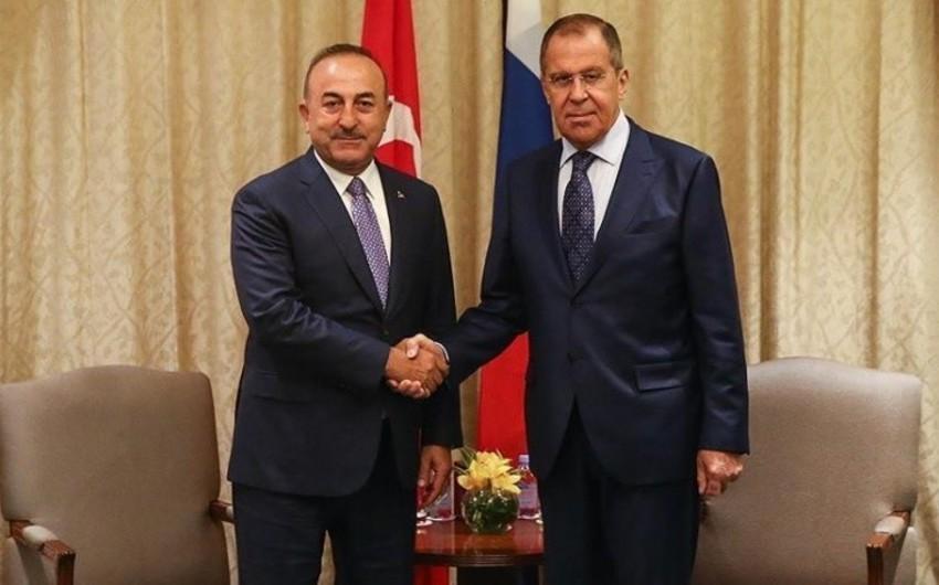 Bakıda Rusiya və Türkiyə XİN başçılarının görüşü keçirilir