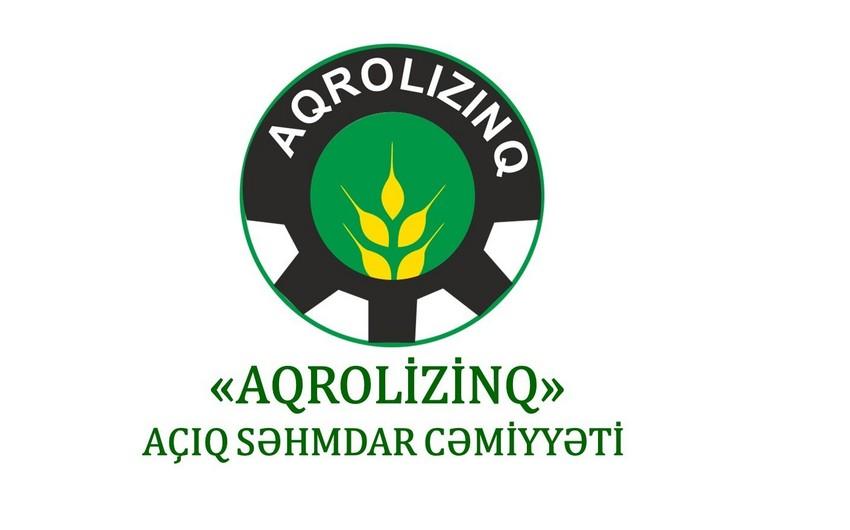 """""""Aqrolizinq""""in nizamnamə kapitalı 27% azaldılıb"""
