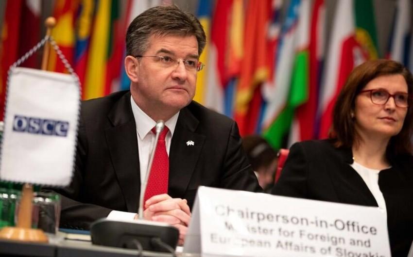 Стала известна дата визита действующего председателя ОБСЕ в Азербайджан