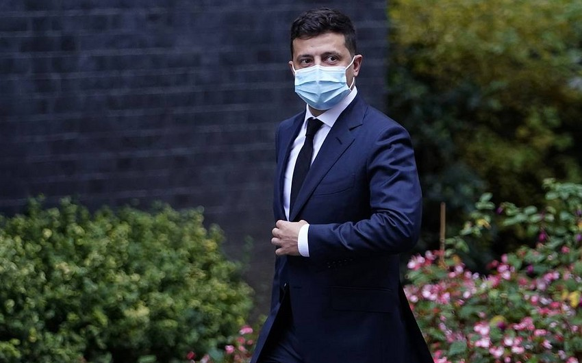 Ukrayna Prezidenti koronavirusa yoluxub