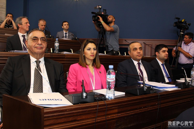 Milli Məclisin üzvləri ATƏT PA-nın Tbilisidəki regional konfransında iştirak edir